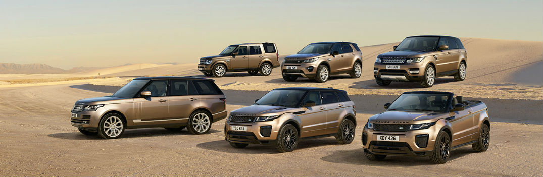 land rover model lineup 2016