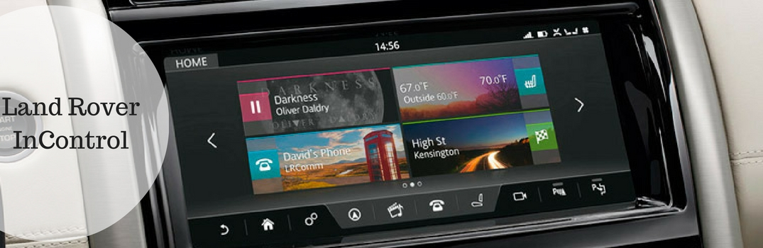 land rover incontrol app feature