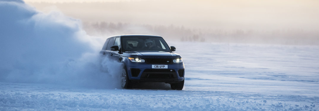 How does the Land Rover Terrain Response system work?