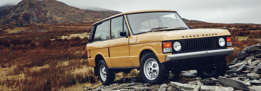 What does the Land Rover Range Rover Classic look like?
