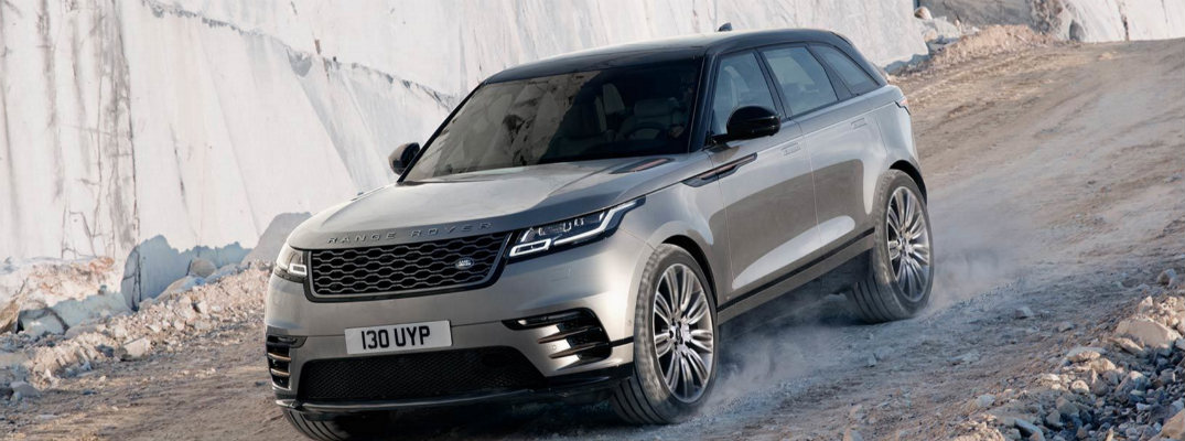 Off-Roading Features in the 2018 Range Rover Velar