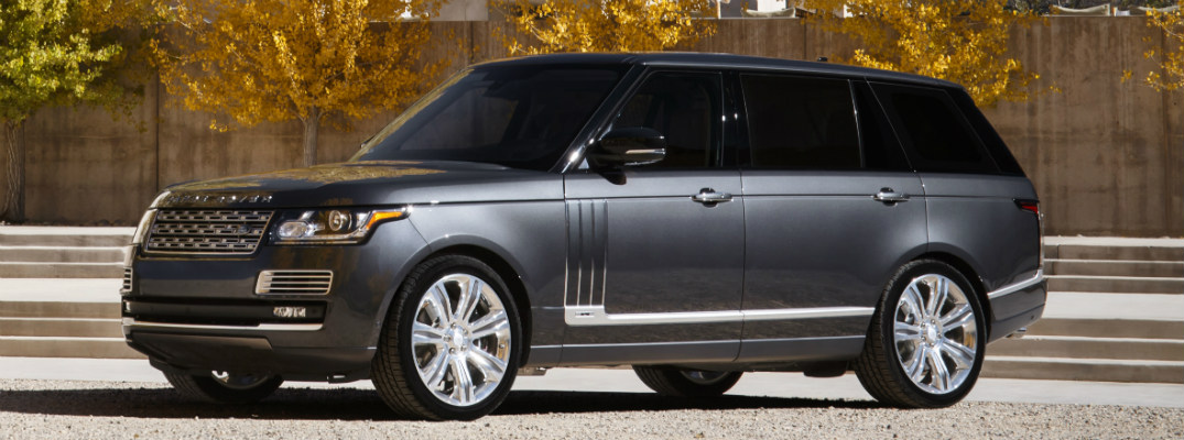 How do you care for leather seats in a Range Rover?