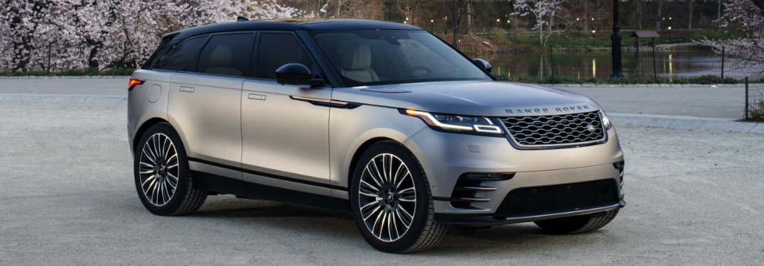 What exterior colors are available on the newest addition to the Land Rover lineup?