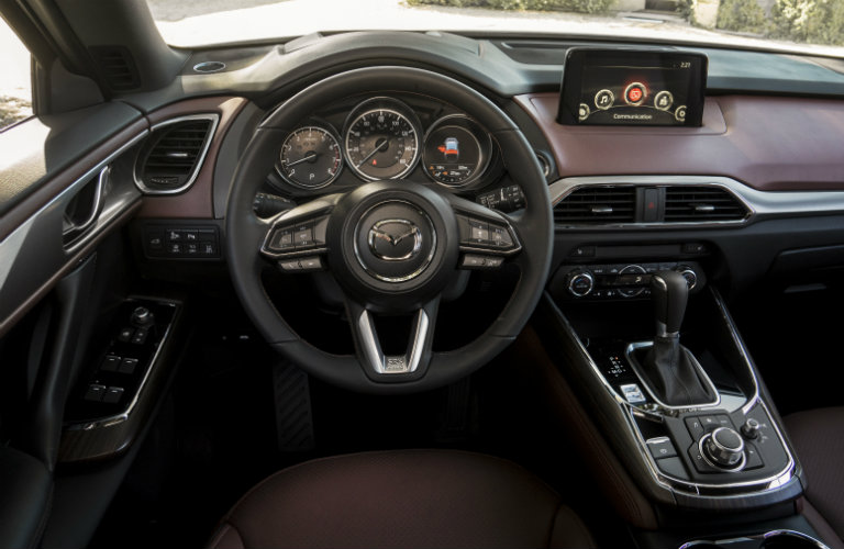 Great 2018 Mazda CX 9 Steering Wheel And Touchscreen
