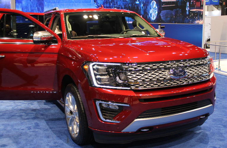 2018 ford expedition third-row seating