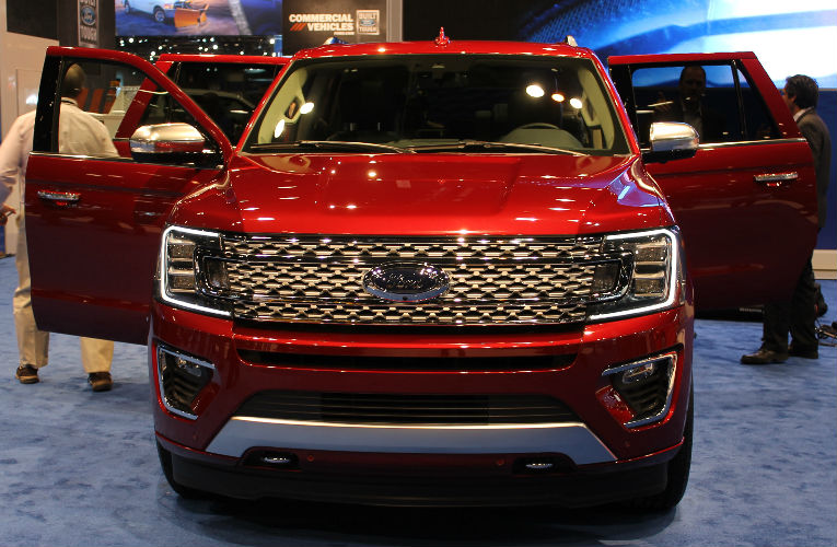2018 Ford Expedition front grille
