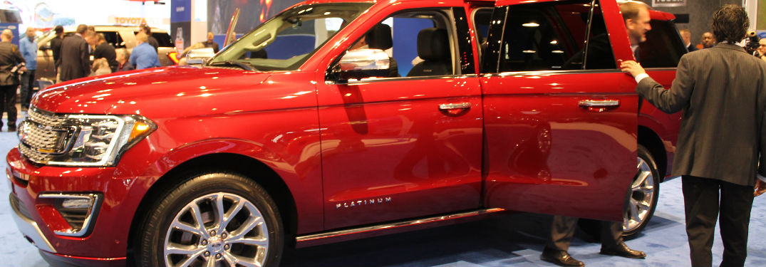 2018 Ford Expedition Chicago Auto Show Photo Gallery