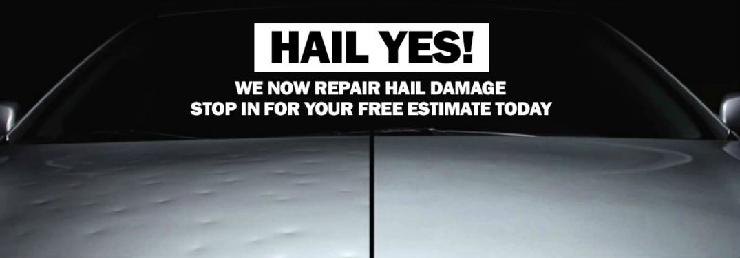 Hail damage repair in Calgary AB