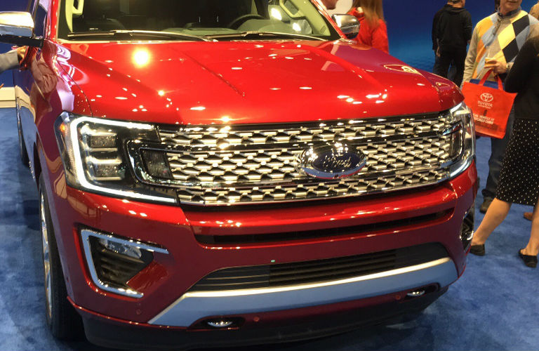 2018 Expedition front grill redesign
