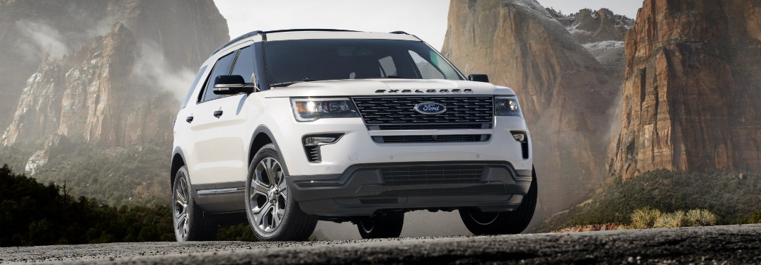 2018 Ford Explorer updates and new features