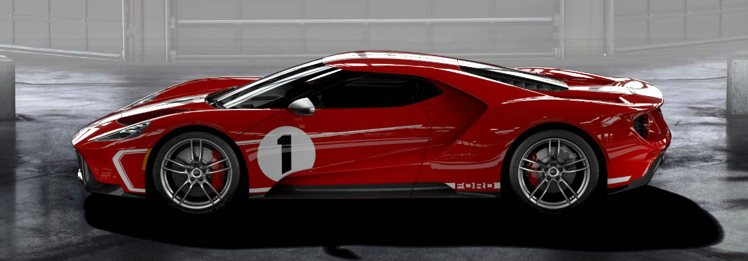 2018 Ford GT '67 Heritage Edition Race Car Features and Release Date