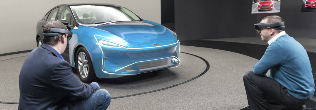 Ford is Testing Hologram Technology to Use for Designing Vehicles