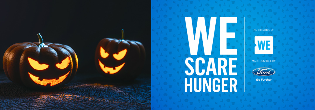 Donate Food at Marlborough Ford this October for the WE Scare Hunger Food Drive