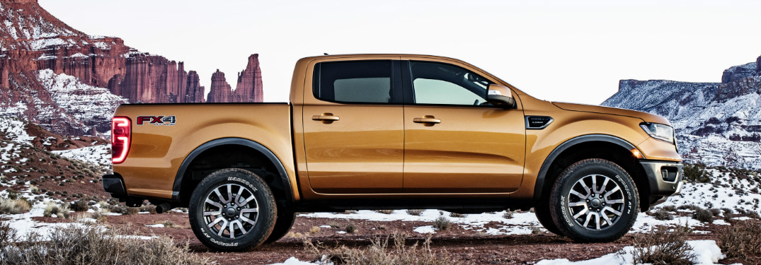 What features does the 2019 Ford Ranger offer?