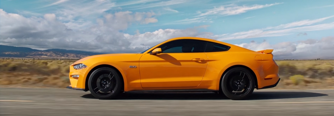 View a Walkaround Video of the 2018 Ford Mustang