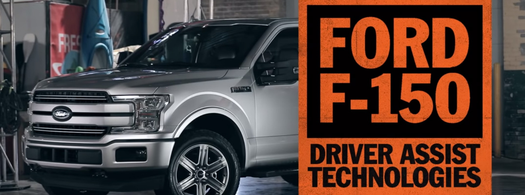 Ford F-150 Driver Assist Technologies and Silver 2019 Ford F-150