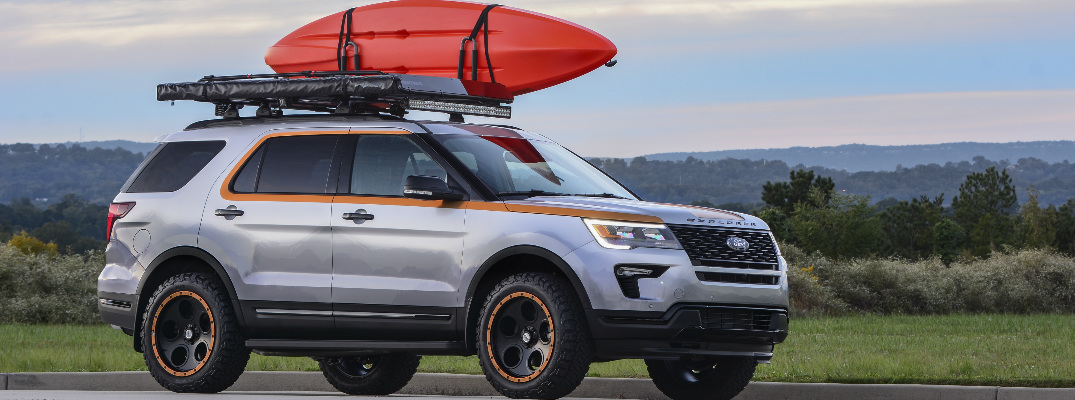 Ford Donates a Custom 2019 Ford Explorer to a Pediatric Cancer Foundation