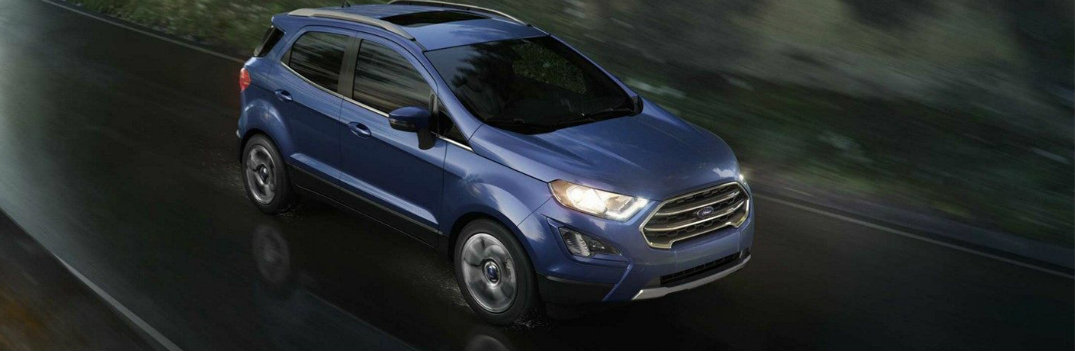 What Does the 2019 Ford EcoSport Have For Engine Options?