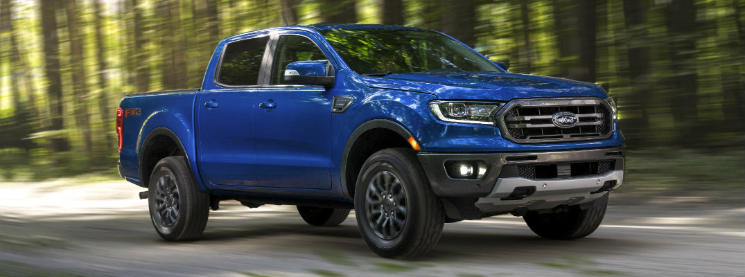 Side profile of the 2019 Ford Ranger FX2
