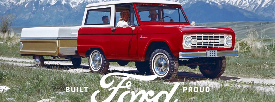 Magazine ad for the Ford Bronco