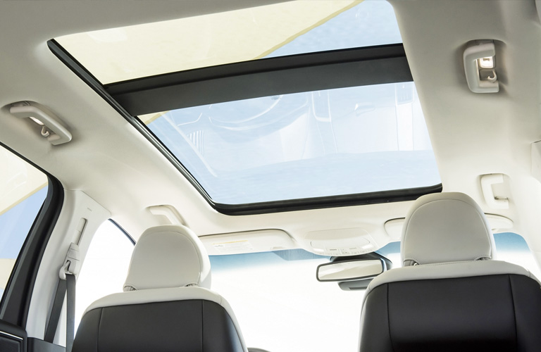 2020 Ford Edge sunroof view
