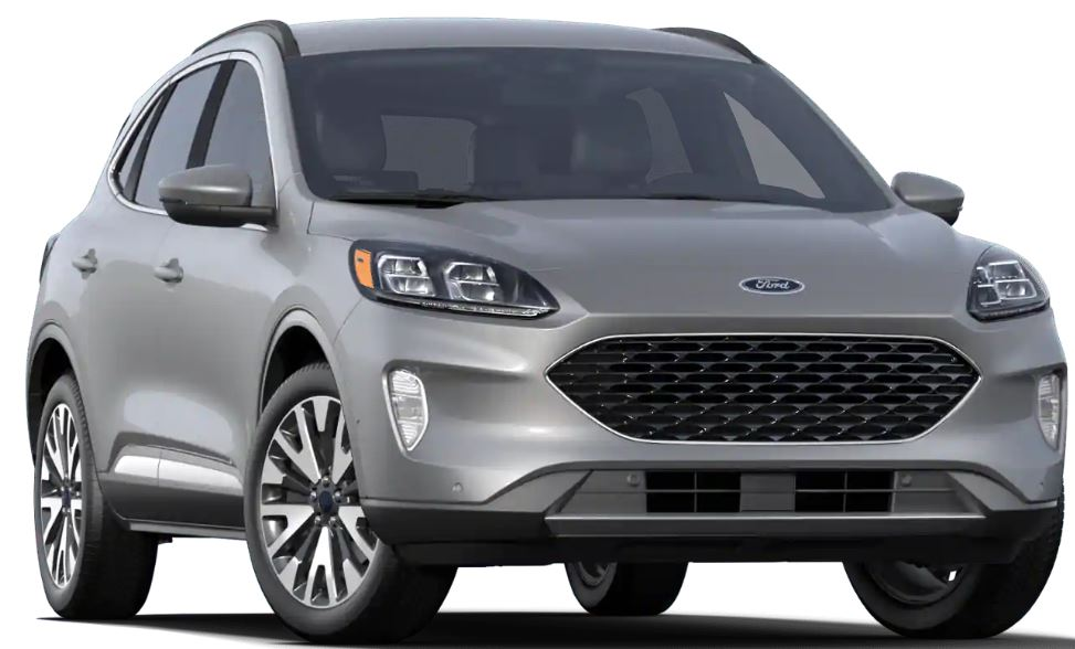 2020 Ford Escape Ignot Silver