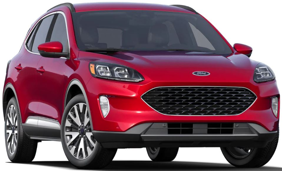 2020 Ford Escape Rapid Red