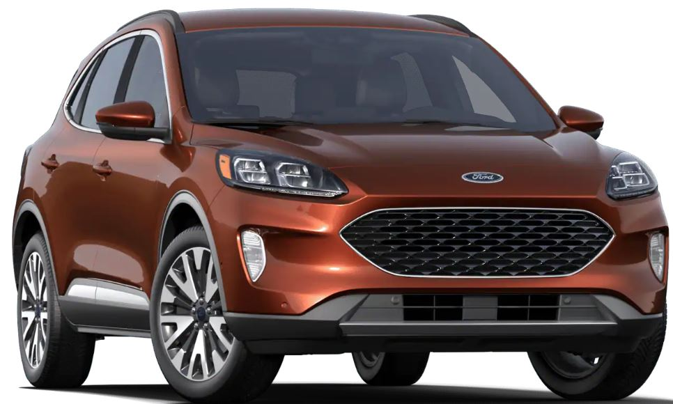 2020 Ford Escape Sedona Orange
