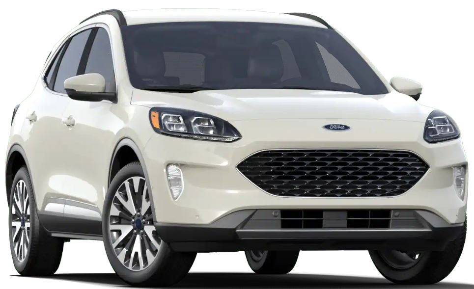 2020 Ford Escape Star White