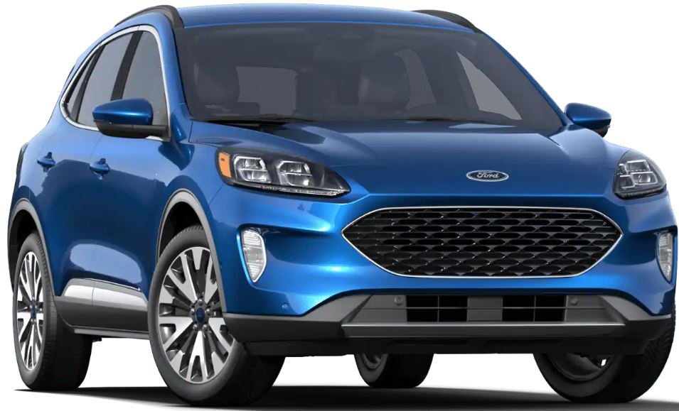 2020 Ford Escape Velocity Blue