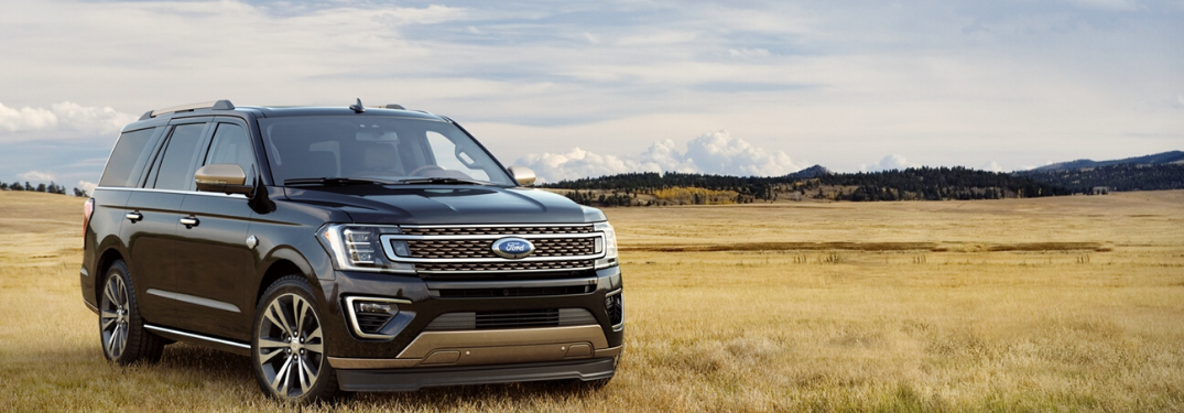 2020 Ford Expedition parked in a field