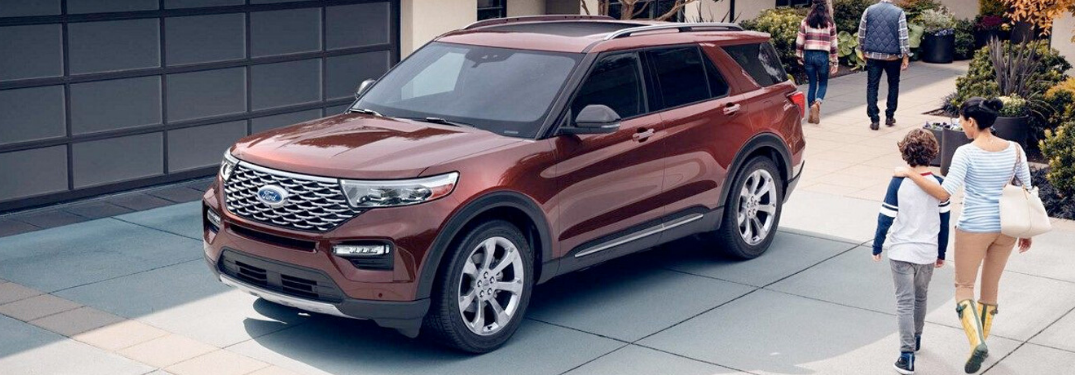 2020 Ford Explorer parked outside