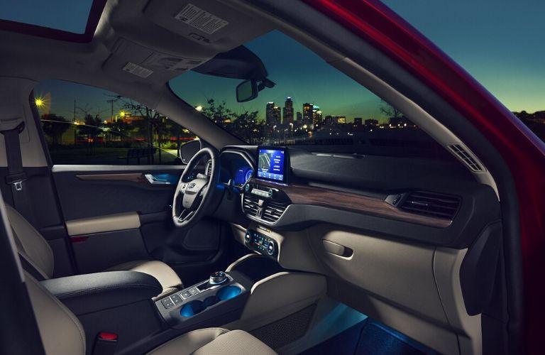 2020 Ford Escape interior side view