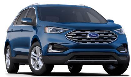 2020 Ford Edge Atlas Blue