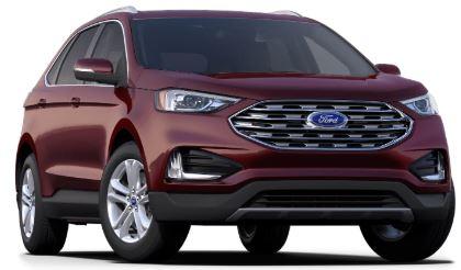 2020 Ford Edge Burgundy Velvet
