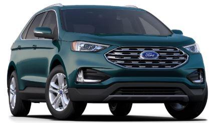 2020 Ford Edge Dark Persian Green