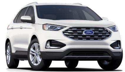 2020 Ford Edge Star White