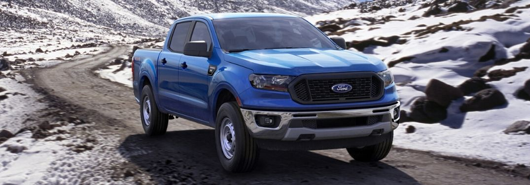 What Safety Features are on the 2020 Ford Ranger?