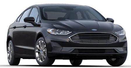 2020 Ford Fusion Agate Black