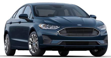 2020 Ford Fusion Alto Blue