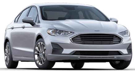 2020 Ford Fusion Iconic Silver