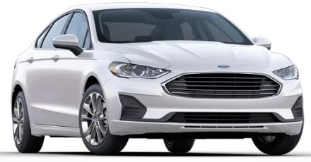 2020 Ford Fusion Oxford White