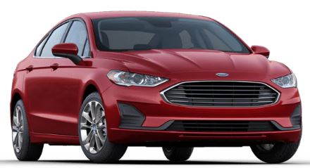 2020 Ford Fusion Rapid Red