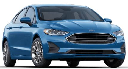 2020 Ford Fusion Velocity Blue