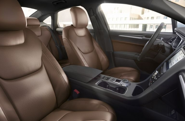 2020 Ford Fusion interior seats view