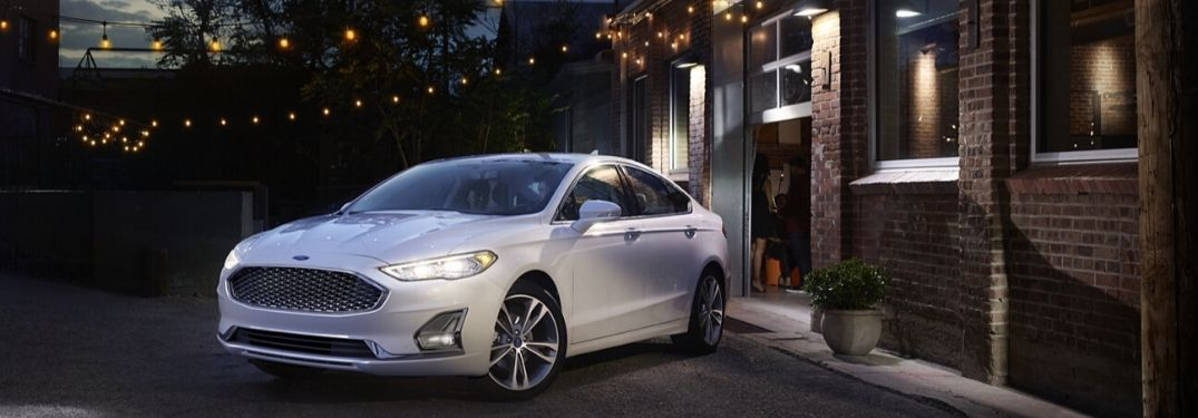 2020 Ford Fusion parked outside