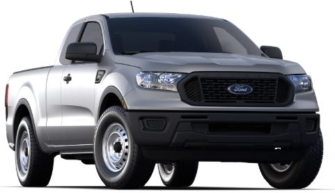 2020 Ford Ranger Iconic Silver
