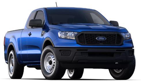 2020 Ford Ranger Lightning Blue