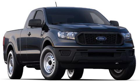 2020 Ford Ranger Shadow Black