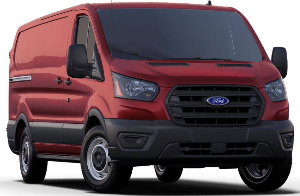 2020 Ford Transit Kapoor Red